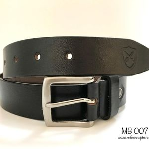 Other - Black Leather Belt, Genuine leather Casual wear